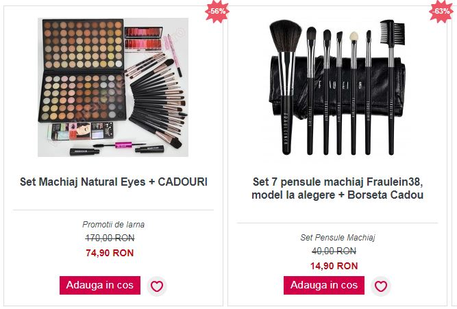 50 Produse Cosmetice Inspired Beauty 24